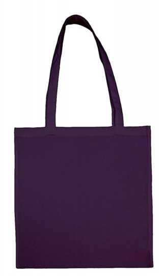 purple baumwolltasche bedrucken