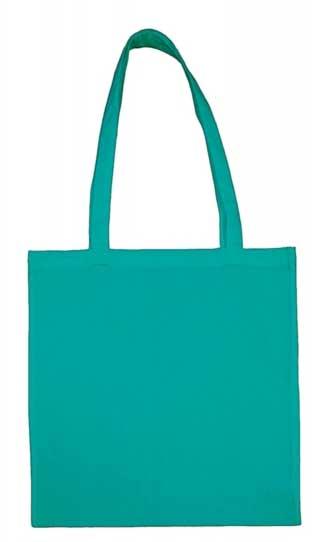 turquoise baumwolltasche bedrucken