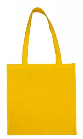 gelbe Baumwolltasche bedrucken