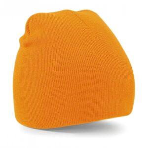 Original Pull-On Beanie_405_Flourescent-Orange