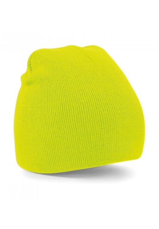 Original Pull-On Beanie_605_flourescent-yellow