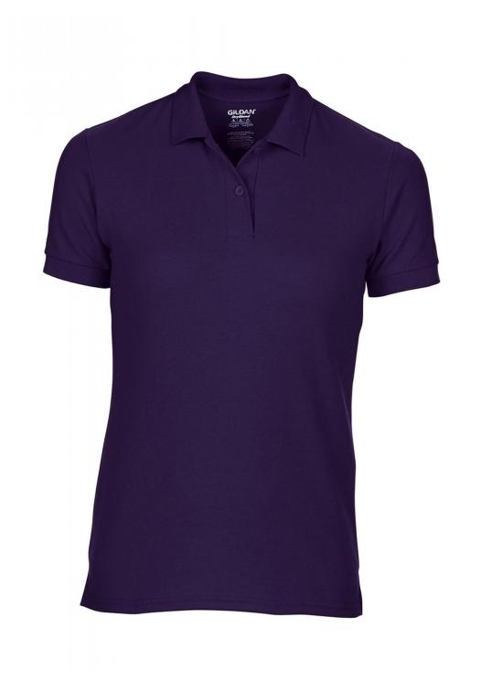 DryBlend Ladies Double Piqué Polo_purple