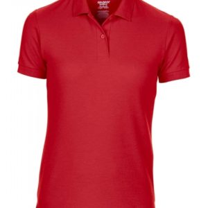 DryBlend Ladies Double Piqué Polo_red