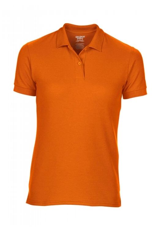 DryBlend Ladies Double Piqué Polo_safety-orange