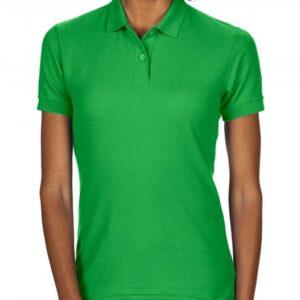 DryBlend Ladies Double Piqué Polo_irish-green