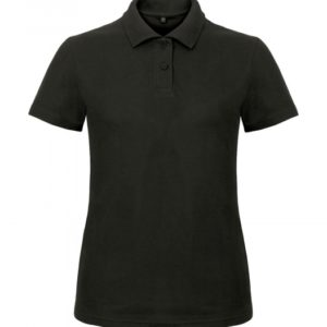Ladies' Piqué Polo Shirt PWI11_black