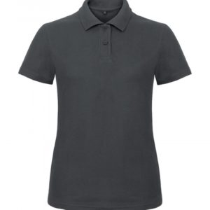 Ladies' Piqué Polo Shirt PWI11_anthracite