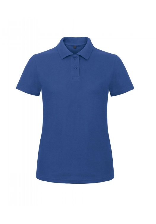 Ladies' Piqué Polo Shirt PWI11_royal