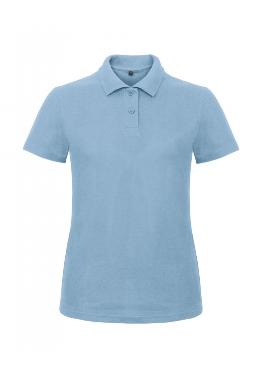 Ladies' Piqué Polo Shirt PWI11_light-blue