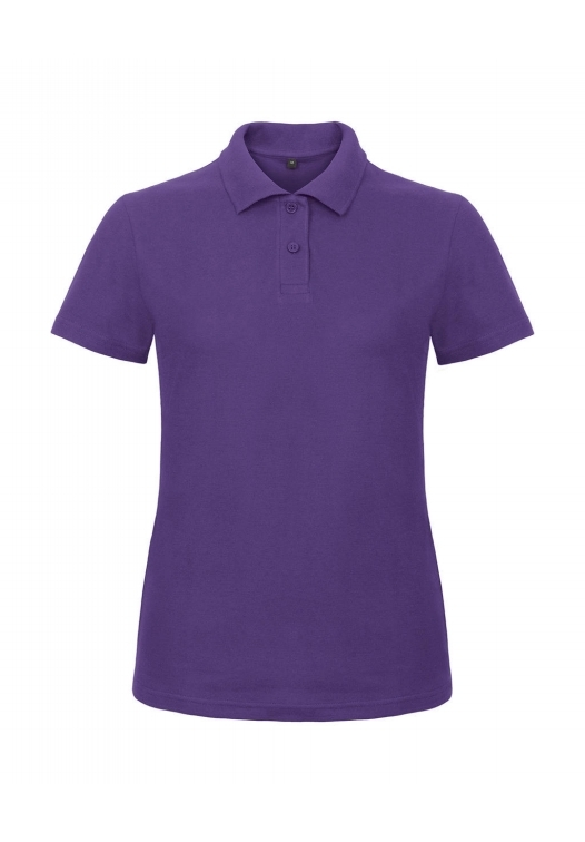 Ladies' Piqué Polo Shirt PWI11_purple