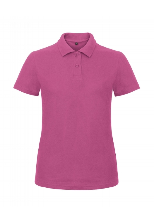 Ladies' Piqué Polo Shirt PWI11_fuchsia