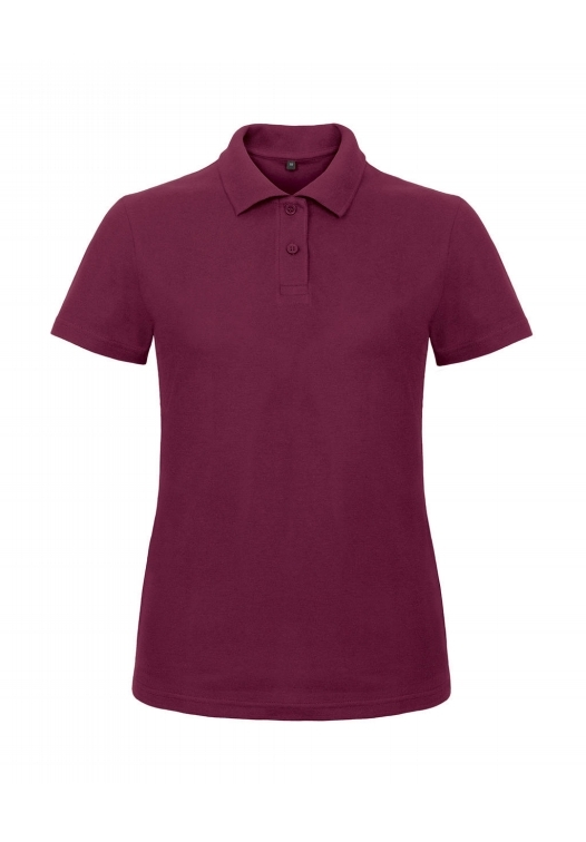Ladies' Piqué Polo Shirt PWI11_wine