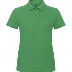 Ladies' Piqué Polo Shirt PWI11_kelly-green