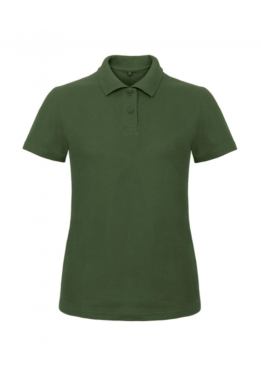 Ladies' Piqué Polo Shirt PWI11_bottle-green