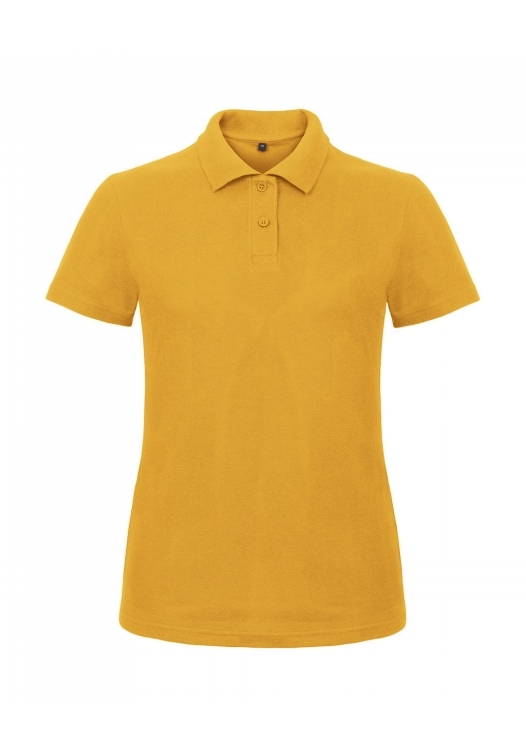 Ladies' Piqué Polo Shirt PWI11_chili-gold