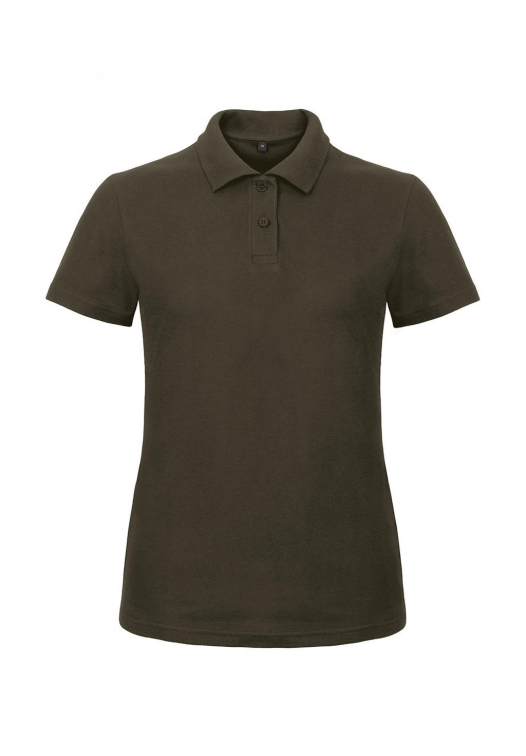 Ladies' Piqué Polo Shirt PWI11_brown