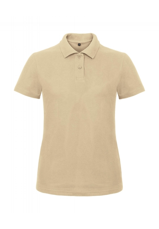 Ladies' Piqué Polo Shirt PWI11_sand