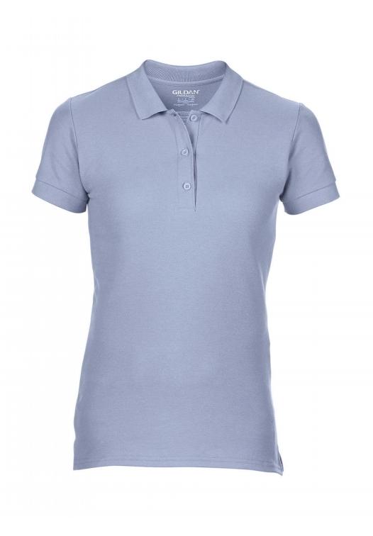 Premium Cotton Ladies' Double Piqué Polo_light-blue