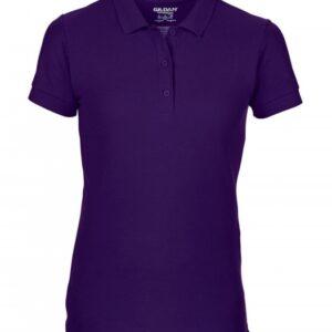 Premium Cotton Ladies' Double Piqué Polo_purple