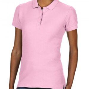 Premium Cotton Ladies' Double Piqué Polo_light-pink