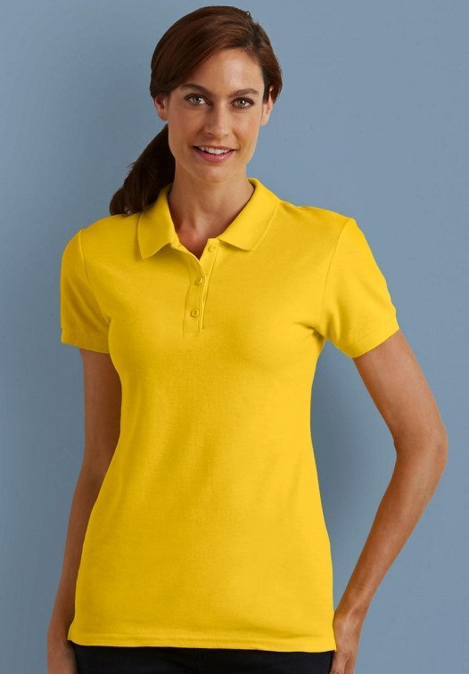 Premium Cotton Ladies' Double Piqué Polo_Titel