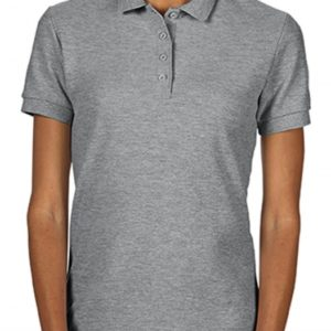 Softstyle Ladies Double Pique Polo_sport-grey