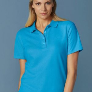 Softstyle Ladies Double Pique Polo_Titel