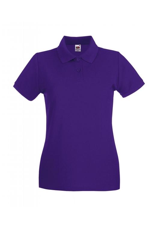 Premium Polo Lady-Fit_purple