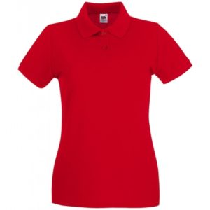 Premium Polo Lady-Fit_red