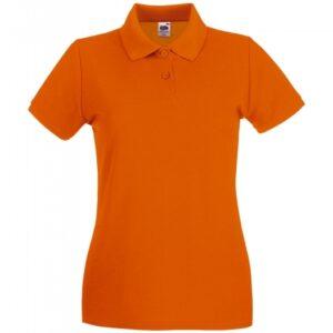 Premium Polo Lady-Fit_orange