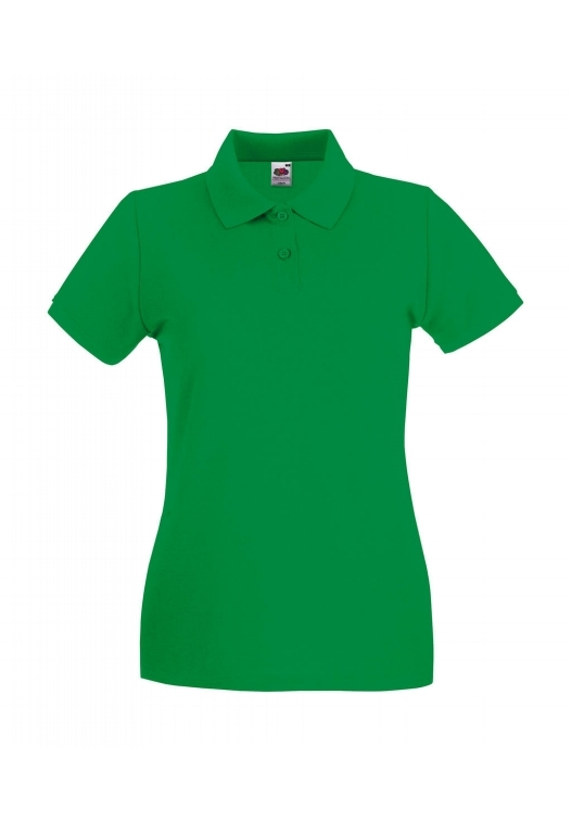Premium Polo Lady-Fit_kelly-green