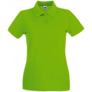 Premium Polo Lady-Fit_lime-green