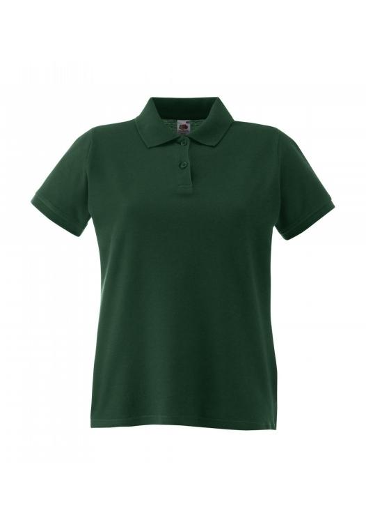 Premium Polo Lady-Fit_bottle-green