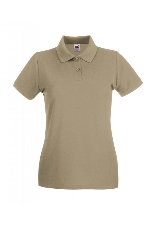 Premium Polo Lady-Fit_khaki