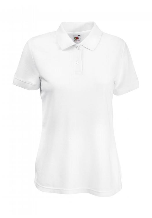 Polo Lady-Fit_white