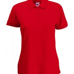 Polo Lady-Fit_red