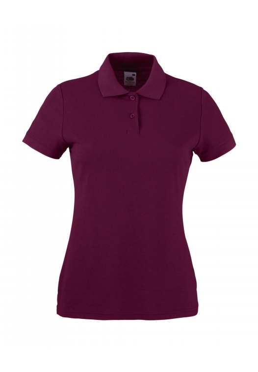 Polo Lady-Fit_burgundy