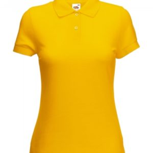 Polo Lady-Fit_sunflower
