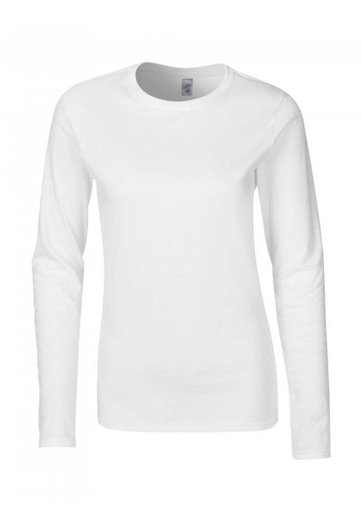 Ladies Softstyle T-Shirt LS_white