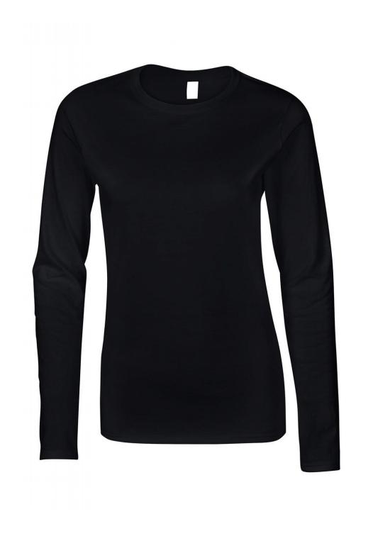 Ladies Softstyle T-Shirt LS_black