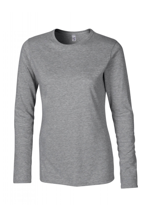 Ladies Softstyle T-Shirt LS_sport-grey