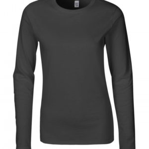 Ladies Softstyle T-Shirt LS_charcoal