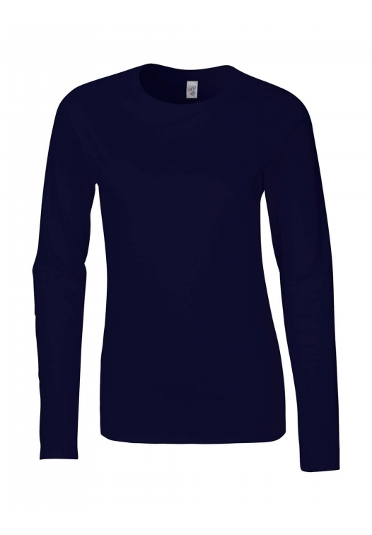 Ladies Softstyle T-Shirt LS_navy