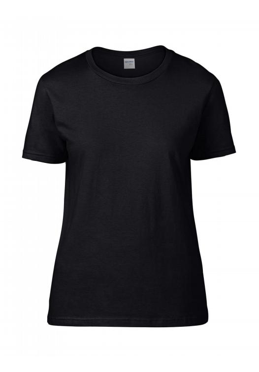 Premium Cotton Ladies RS T-Shirt_black