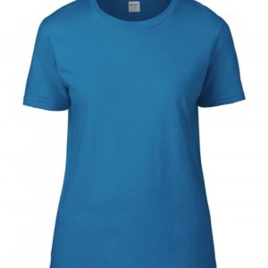 Premium Cotton Ladies RS T-Shirt_sapphire