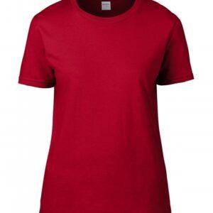 Premium Cotton Ladies RS T-Shirt_red