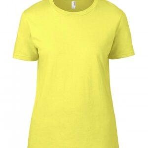 Premium Cotton Ladies RS T-Shirt_cornsilk