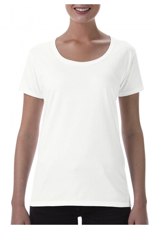 Softstyle Ladies Deep Scoop T-Shirt_white
