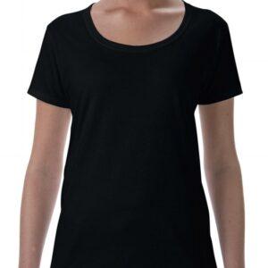 Softstyle Ladies Deep Scoop T-Shirt_black