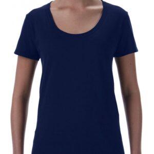 Softstyle Ladies Deep Scoop T-Shirt_navy